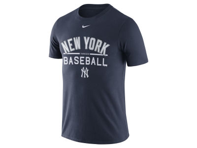 New York Yankees Nike MLB Men's Away Practice T-Shirt 1.7