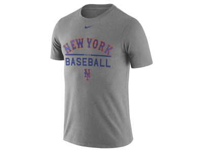 New York Mets Nike MLB Men's Away Practice T-Shirt 1.7