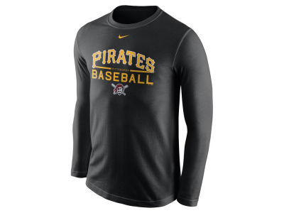 Pittsburgh Pirates Nike MLB Men's Cotton Practice Long Sleeve T-Shirt