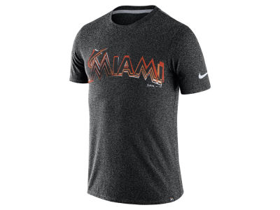 Miami Marlins Nike MLB Men's Marled T-Shirt 1.7