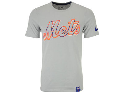New York Mets Nike MLB Men's Marled T-Shirt 1.7