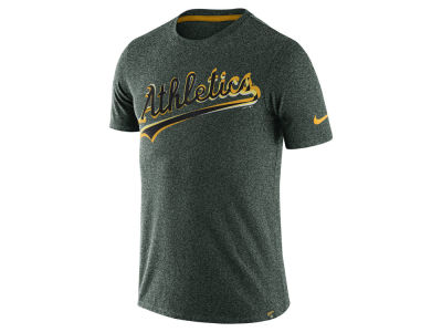Oakland Athletics Nike MLB Men's Marled T-Shirt 1.7