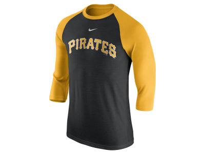 Pittsburgh Pirates Nike MLB Men's Wordmark Raglan T-Shirt