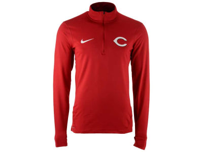 Cincinnati Reds Nike MLB Men's Dry Element 1/2 Zip Pullover