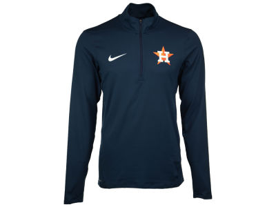 Houston Astros Nike MLB Men's Dry Element 1/2 Zip Pullover