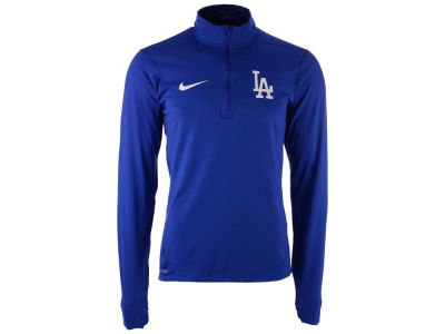 Los Angeles Dodgers Nike MLB Men's Dry Element 1/2 Zip Pullover