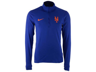 New York Mets Nike MLB Men's Dry Element 1/2 Zip Pullover