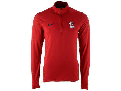 St. Louis Cardinals Nike MLB Men's Dry Element 1/2 Zip Pullover