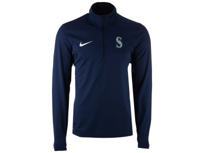 Seattle Mariners Nike MLB Men's Dry Element 1/2 Zip Pullover