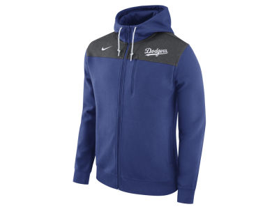 Los Angeles Dodgers Nike MLB Men's AV Full-Zip Hoodie