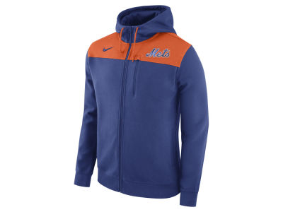 New York Mets Nike MLB Men's AV Full-Zip Hoodie