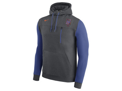 New York Mets Nike MLB Men's AV Pullover Hoodie