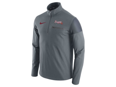 Atlanta Braves Nike MLB Men's 1/2 Zip Elite Pullover
