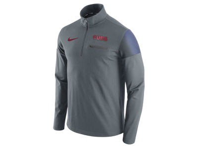 Chicago Cubs Nike MLB Men's 1/2 Zip Elite Pullover