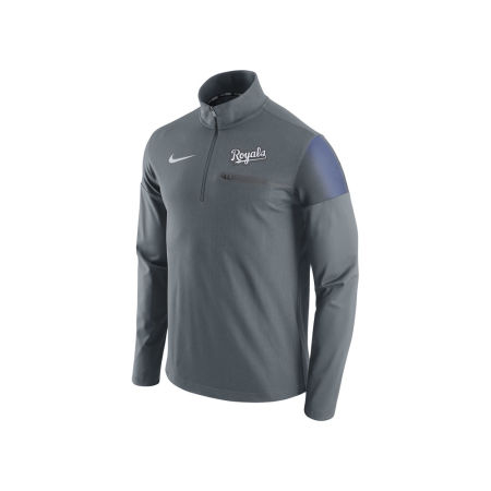 Kansas City Royals Nike MLB Men's 1/2 Zip Elite Pullover