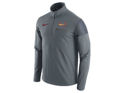 St. Louis Cardinals Nike MLB Men's 1/2 Zip Elite Pullover