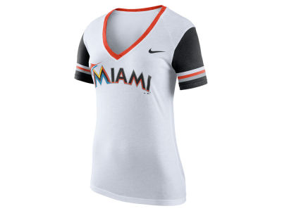 Miami Marlins MLB Women's Fan Top