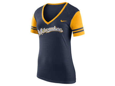 Milwaukee Brewers Nike MLB Women's Fan Top