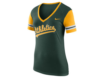 Oakland Athletics MLB Women's Fan Top