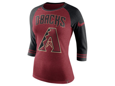 Arizona Diamondbacks Nike MLB Women's Tri Raglan T-Shirt