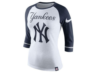 New York Yankees MLB Women's Tri Raglan T-Shirt