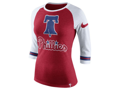 Philadelphia Phillies Nike MLB Women's Tri Raglan T-Shirt