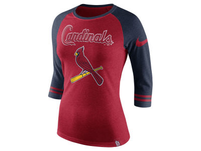 St. Louis Cardinals MLB Women's Tri Raglan T-Shirt