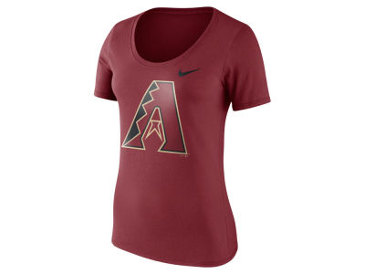 Arizona Diamondbacks Nike MLB Women's Cotton Scoop T-Shirt