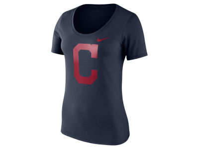 Cleveland Indians Nike MLB Women's Cotton Scoop T-Shirt