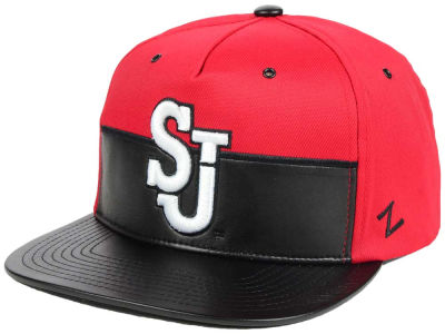St Johns Red Storm Zephyr NCAA Anarchy Snapback Cap