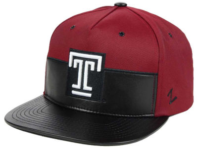 Temple Owls Zephyr NCAA Anarchy Snapback Cap