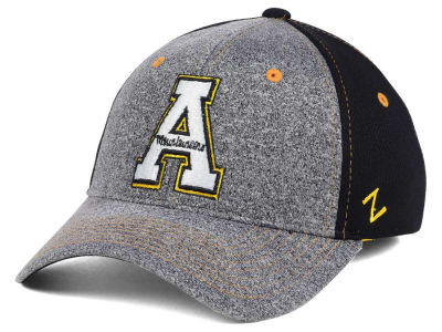 Appalachian State Mountaineers Zephyr NCAA Graphite Stretch Cap