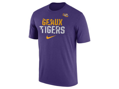 LSU Tigers Nike NCAA Men's Legend Ignite Verbiage T-Shirt