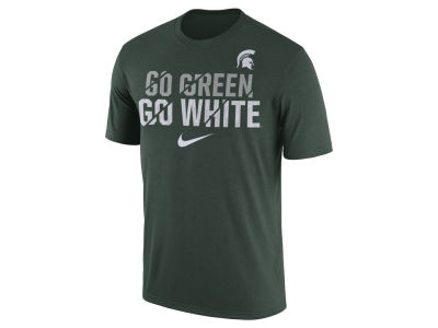 Michigan State Spartans Nike NCAA Men's Legend Ignite Verbiage T-Shirt