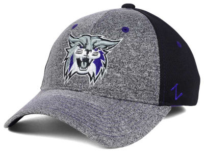 Weber State Wildcats Zephyr NCAA Graphite Stretch Cap