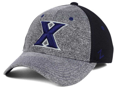 Xavier Musketeers Zephyr NCAA Graphite Stretch Cap