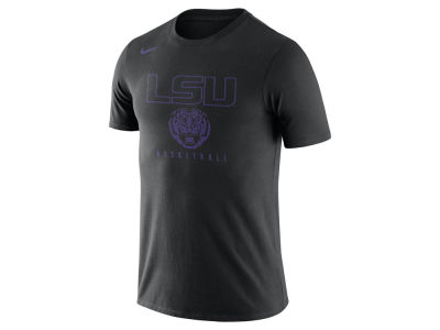 LSU Tigers Nike NCAA Men's Burnout Basketball T-Shirt