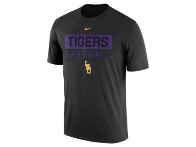 LSU Tigers Nike NCAA Men's Baseball Legend Team Issue T-Shirt