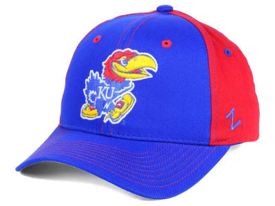 Kansas Jayhawks Zephyr NCAA Jolt Adjustable Cap