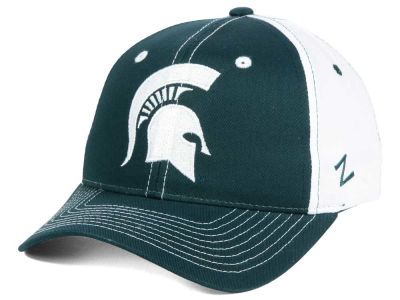 Michigan State Spartans Zephyr NCAA Jolt Adjustable Cap
