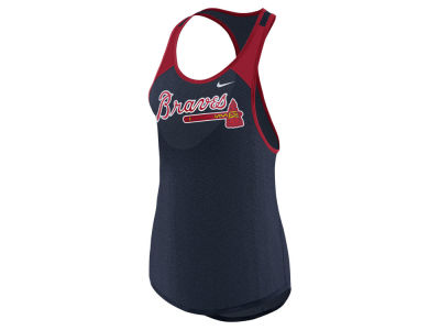 Atlanta Braves Nike MLB Women's Legend Wordmark Tank