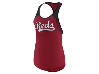 Cincinnati Reds Nike MLB Women's Legend Wordmark Tank