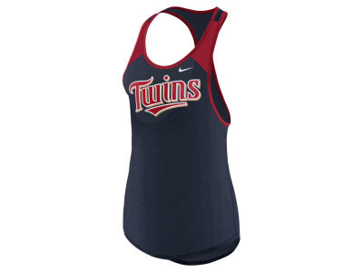 Minnesota Twins Nike MLB Women's Legend Wordmark Tank