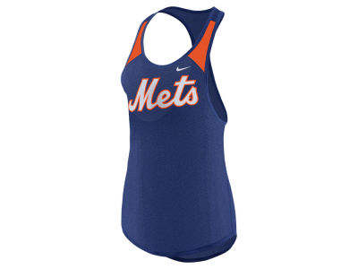 New York Mets Nike MLB Women's Legend Wordmark Tank