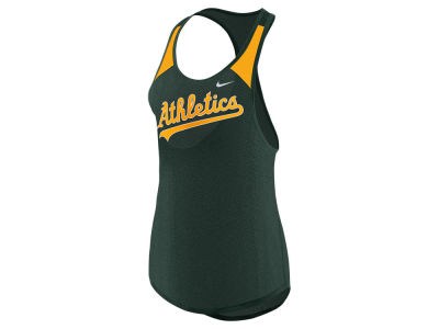 Oakland Athletics Nike MLB Women's Legend Wordmark Tank