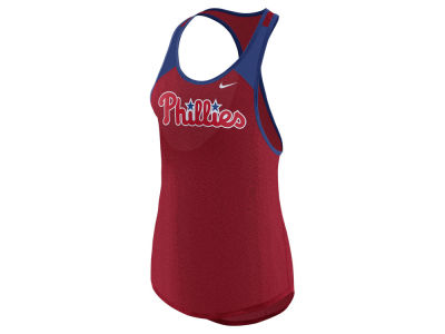 Philadelphia Phillies Nike MLB Women's Legend Wordmark Tank