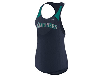 Seattle Mariners Nike MLB Women's Legend Wordmark Tank