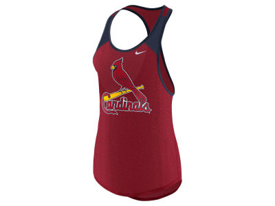 St. Louis Cardinals Nike MLB Women's Legend Wordmark Tank