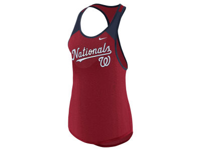 Washington Nationals MLB Women's Legend Wordmark Tank