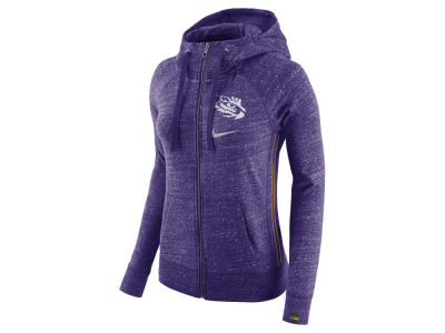 LSU Tigers Nike NCAA Women's Vintage Full-Zip Hoodie